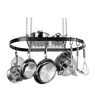 Range Kleen Black Oval Hanging Pot Rack