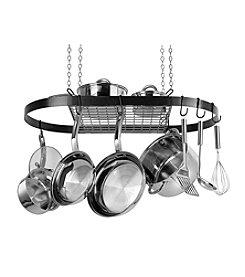 Range Kleen Black Oval Hanging Pot Rack