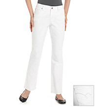 Bandolino Blu Mandi Fashion Wash White Jeans