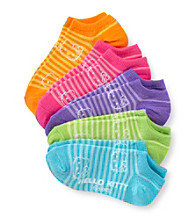 Hello Kitty® Girls' Assorted Neon 5-pk. Striped Socks
