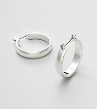 Studio Works® Large Wide Hoop Earrings