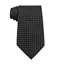 Kenneth Roberts Platinum® Men's Black Parquet Neck Tie