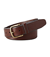 Fossil® Men's Cognac Logan Belt
