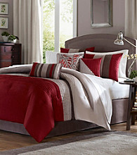 Tradewinds Red 7-pc. Comforter Set by Madison Park™