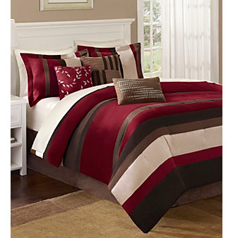Madison Park® Boulder Stripe 7-pc. Comforter Set