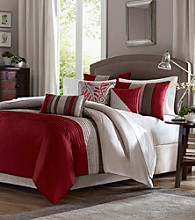 Tradewinds Red 6-pc. Duvet Set by Madison Park™