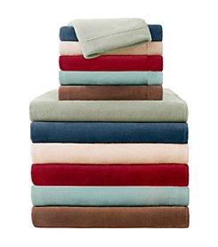 Premier Comfort Solid Soloft Micro Raschel Plush Sheet Sets