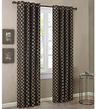 Madison Park™ Slater Gold & Black Circle Medallion Draperies