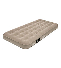 Pure Comfort Low-Profile Sueded Top Air Mattress
