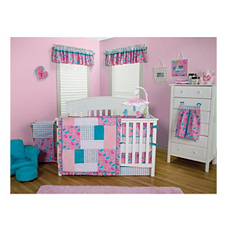 Trend Lab Groovy Love - 4-pc. Crib Bedding Set