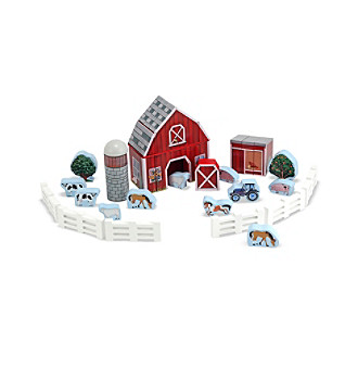 Melissa & Doug® Farm Blocks Play Set