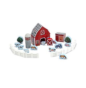Melissa & Doug® Farm Blocks Play Set