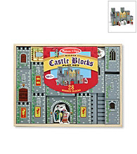 Melissa & Doug® Castle Blocks Play Set