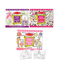 Melissa & Doug® Girls Activity Bundle