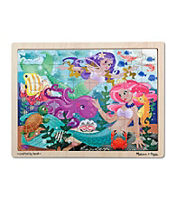 Melissa & Doug® Mermaid Fantasea Wooden Jigsaw Puzzle