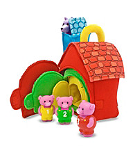 Melissa & Doug® Three Little Pigs Play Set