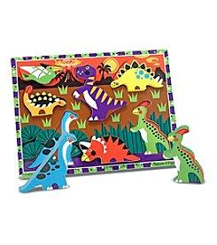 Melissa & Doug® Dinosaurs Chunky Puzzle