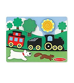 Melissa & Doug® Chunky Scene Red Caboose
