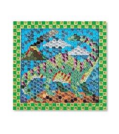Melissa & Doug® Peel & Press Sticker by Number Dinosaur