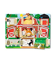 Melissa & Doug® Magnetic Farm Hide & Seek