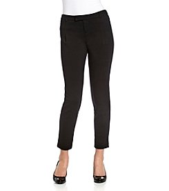 MICHAEL Michael Kors® Black Knit Straight Ankle Pants