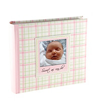 Malden Pink Plaid Photo Album