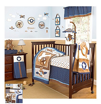 Lil' Aviator Baby Bedding Collection by CoCaLo Baby®