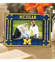 The Memory Company® University of Michigan Art Glass Horizontal 4x6