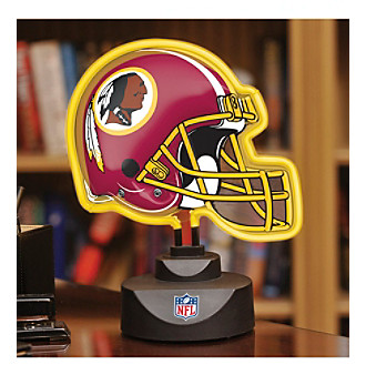 The Memory Company® Washington Redskins Neon Helmet Lamp
