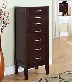 Powell® Contemporary Dark Espresso Jewelry Armoire