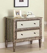 Powell® 2-Drawer Mirrored Console
