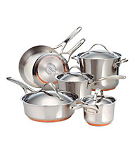 Anolon® Nouvelle 10-pc. Stainless Steel Cookware Set