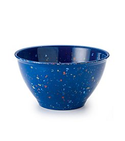 Rachael Ray® Blue Melamine Garbage Bowl with Rubber Foot