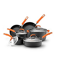 Rachael Ray® Hard-Anodized II 10-pc. Cookware Set