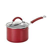 KitchenAid® Aluminum 2 Qt. Covered Straining Saucepan with Pour Spouts