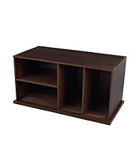 KidKraft Espresso Storage Unit with Shelves