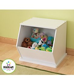 KidKraft White Single Storage Unit