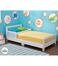 KidKraft White Slatted Toddler Bed