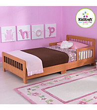 KidKraft Honey Slatted Toddler Bed