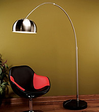 Lumisource® Chrome Arch Floor Lamp
