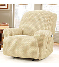 Sure Fit® Stretch Baxter Recliner Slipcover