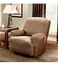 Sure Fit®Stretch Stripe Recliner Slipcover