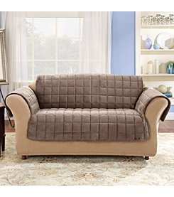 Sure Fit® Deluxe Comfort Protective Loveseat & Sofa Slipcover