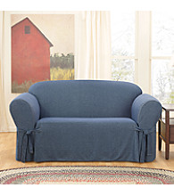 Sure Fit® Denim 1-pc. Loveseat & Sofa Slipcover