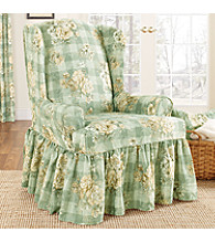 Sure Fit® Juliet Wing Chair Slipcover