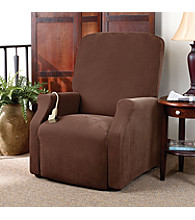 Sure Fit® Stretch Pique Recliner Slipcover