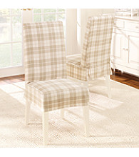 Sure Fit® Soft Suede Short Dining Room Chair Slipcover