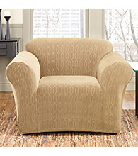 Sure Fit® Stretch Links One-Piece Chair Slipcover