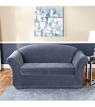 Sure Fit® Stretch Squares 2-pc. Separate-Seat Loveseat & Sofa Slipcover