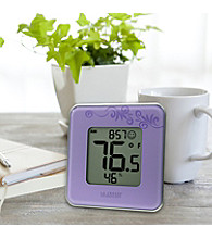 La Crosse Technology® Indoor Temperature and Humidity Station - Purple
